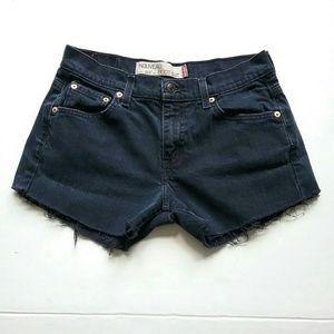 Levi's Shorts - Levi's 515 Black Cut Off Jean Shorts
